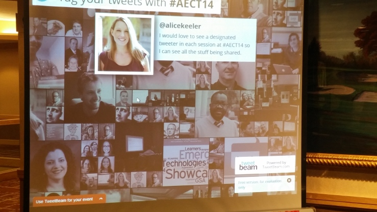 #twitterfeed, #AECT14